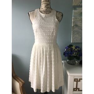 Trina Turk White Racerback Dress